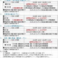 2018秋のプロ免許特割
